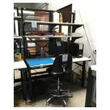 Work Bench & Office Chairs