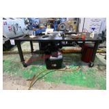 Heavy Duty Steel Work Bench On Wheels