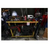 Machine Shop Steel Table