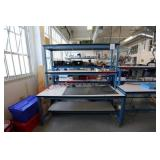 Double Shelving Lab Table