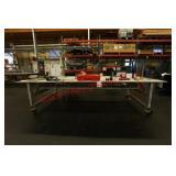 Custom made Heavy Duty Aluminium work bench