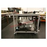 Vacuum Pump System with Cart