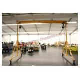Steel Adjustable Height 2 Ton Gantry Crane