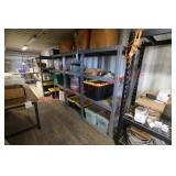 (4) Shelving Units with Contents (please inspect)