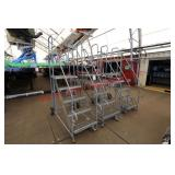 (4) Cotterman Portable Staircases