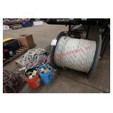 Large Spool of Rope and Related Equipment (please