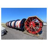 (5) Metal Spools with Tether Cord