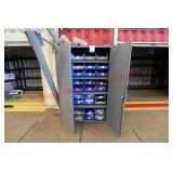 Uline Heavy Duty Storage Cabinet (contents include