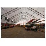 Massive Tent, Containers and flooring