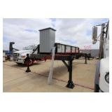 Hydraulic Outrigging Platform Trailer