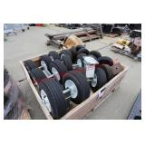 Rubber Wheel Casters