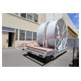 Large Winding Spool Trailer