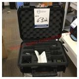 wireless microphone in padded Case
