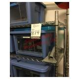 Miscellaneous items in two racks