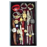 (21) ASSORTED COSTUME WATCHES
