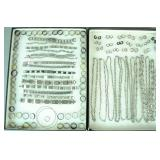 (300+) STAINLESS STEEL JEWELRY GROUP, MOST RINGS