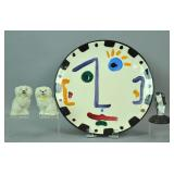 (4) PIECE COLLECTIBLE CERAMIC GROUP