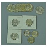 (12) UNCIRCULATED US SILVER COINS