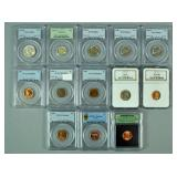 (10) PCGS & NGC GRADED US COINS