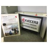 Kyocera Hanging Sign & 2 Posters