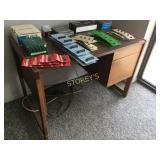 Wood Knee Hole Desk - 42 x 24 x 29