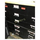 6 Drawer Parts / Storage Cabinet - 15 x 29 x 38