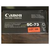 Box of Canon Film Ribbon Cassette - SC-73