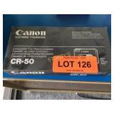 Box of Canon CR-50 Correctable Film Ribbon Cassete