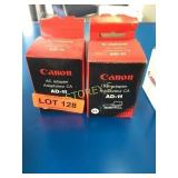 2 Canon AC Adapters - AD-11