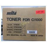 Mita Ci1000 Yellow Toner