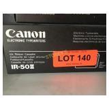 Box of canon IR-50II Ink Ribbon Cassette