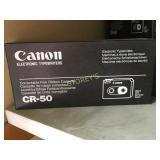 Box of Canon CR-50 Correctable Film Ribbon