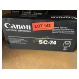 Box of Canon SC-74 Fabric Ribbon Cassette