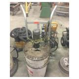 Air Operated Grease Gun w/ Cart