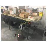 Steel Plate Work Table - 6