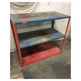 3 Shelf Adjustable Dexion Rack - 48 x 24 x 43