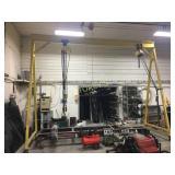 Mobile A-Frame Hoist w/ Electric Budget 2 Ton