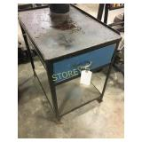 Steel Table w/ Drawer - 18 x 24 x 25