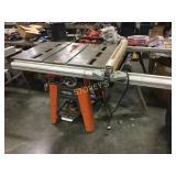 Rigid TS-3650 Table Saw w/ Fence