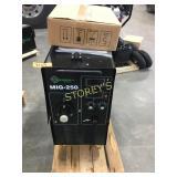 NEW MIG-250 Wire Welder w/ Warranty