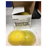 Box of Scotch-Brite Radial Bristle Discs ~40