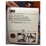 3M 9 x 1 Utility Cloth Sheets x 50 - 19773 Grade