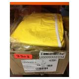 Box of Yellow DuPont LG Coveralls ~12