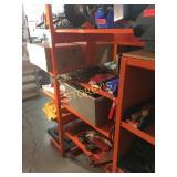 Orange Adjustable 4 Tier HD Rack - 36 x 15 x 70