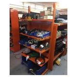 Orange Adjustable 4 Tier HD Rack - 36 x 18 x 77