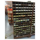 Parts Cabinet & Contents: Machine Bolts, Cotter