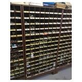 Parts Cabinet & Contents: Machine Bolts, Washers,