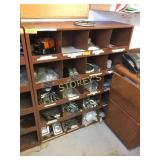 20 Pigeon Hole Parts Cabinet - 36 x 12 x 42