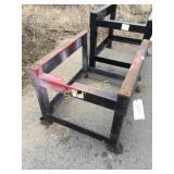 Steel Work Table - 35 x 42 x 29