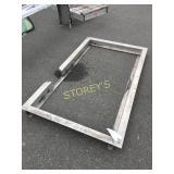 Alum Door Frame ~44 x 76 x 4